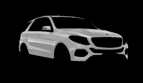 Цвета кузова GLE-Class SUV (W 166)